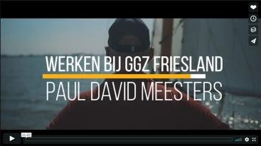 Paul David Meesters – Werken bij GGZ Friesland