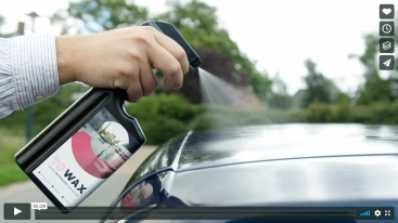 TO WAX – Quick waterless car wash